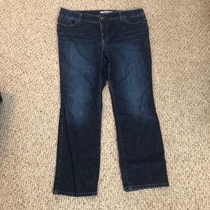 Chicos dark wash jeans size 3 (16)